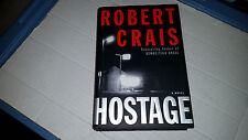 Hostage by Robert Crais (2001, Hardcover) SIGNED 1st/1st