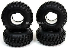 RC 1/10 Scale Rubber TRUCK Tires KNOBBY 1.9 ROCK CRAWLER Wheels 108mm W/ Foam