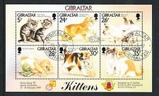 Cats Gibraltarian Stamps