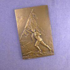 Médaille en bronze par Georges Saulo Nancy