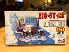 AER ZIS-5V Soviet Military Truck 1/72 Scale Plastic Model Kit Read Sealed Box