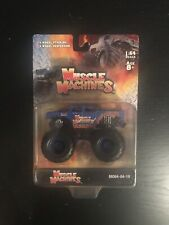 2004 Muscle Machines Monster Truck 1:64 Scale M064-04-19 Logo Truck New MOC Rare