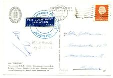 NEDERLAND-S.M.N. 1958   = M.S. BALONG = + DOC....FROM USA
