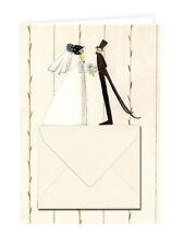 Doppelkarte, Klappkarte für Geldgeschenke HOCHZEIT | Glückwunschkarte Hochzeit