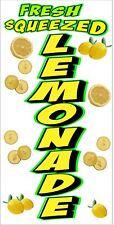 Fresh Squeezed Lemonade Vinyl Vertical Banners Choose A Size Lemon Ade