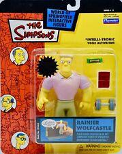 "The Simpsons Series 11 Rainier Wolfcastle 5"" Action Figure by Playmates / NIB"