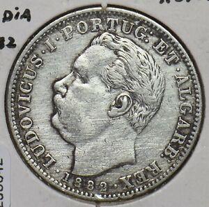 Portuguese India 1882 Rupia 295642 combine
