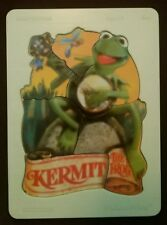Rare Vintage 1981 Fisher Price Kermit the Frog Wooden Puzzle 541 w/ plastic tray