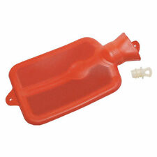 New Red Rubber Hot or Cold Water Bottle LeakProof With Stopper 2 Quart!