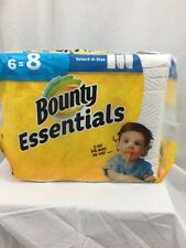 Bounty Essentials 2-Ply Paper Towels - 6 Rolls