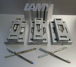 Lamy M16 Kugelschreiber Mine F M B Fein Mittel & Breit Ersatzminen in 4 Farben
