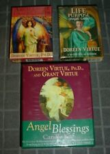 NEW DOREEN VIRTUE ARCHANGEL & LIFE PURPOSE ORACLE CARDS + ANGEL CANDLE KIT