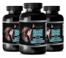 Panax ginseng seeds - UNLEASH YOUR WOLF - testosterone booster gym - 3 Bottles