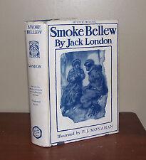 Smoke Bellew. Jack London. Century Co. 1st/7th printing. Dustjacket. 1936.