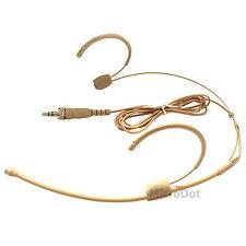 Microdot 4015 Headset Head-mounted Headworn Microphone For SENNHEISER Wireless
