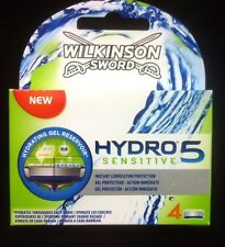 Genuine Wilkinson Sword Hydro 5 Sensitive Blades, 4 Pack