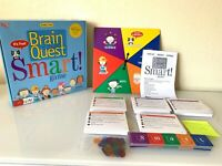 Brain Quest Smart Game! Ages 6 Plus 2-4 Players University Games