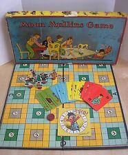 Rare Vintage 1927 Moon Mullins Board Game Milton Bradley 100% Complete