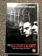 RARE  Vintage Original 2001 Das Experiment VHS Video Tape Oliver Hirschbiegel