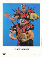 Legion of Doom Hawk & Animal Wrestling Pre Print Promo Photo 8x6 WWF WCW