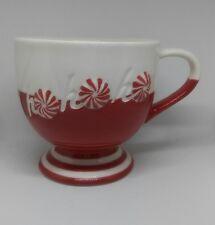 Starbucks Coffee Mug Cup Peppermint Ho Ho Ho Red Christmas Holiday 12 oz 2007