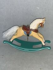 1986 Hallmark Rocking Horse Christmas Ornament 6th in SERIES