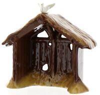 Hagen-Renaker Specialty Nativity Ceramic Manger with Dove Figurine