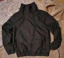 Naketano Brave New Word Men's Outdoor Coat Jacket Olive Green Medium