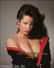 Vanessa del Rio Collectible Photo Barbara Nitke VERY RARE! 1990's AFT BUY w/COA