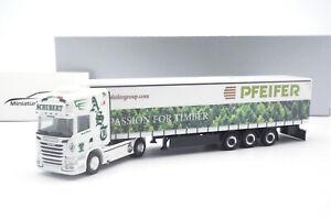 #942898 - Herpa Scania R 13 TL Andreas Schubert Transporte / Vento Bianco - 1:87