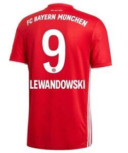Lewandowski 2020-2021 Home Soccer Jersey