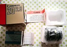Canon FD 20mm f2.8 MINT