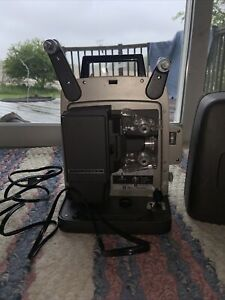 Vintage Bell & Howell Super 8 346A Autoload 8mm Film Projector - Working Bulb