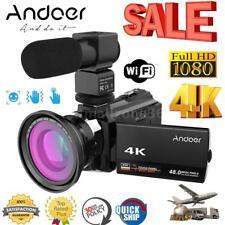 4K WiFi 1080P HD 48MP 16X ZOOM Digital Video Camera Camcorder DV Night Vision