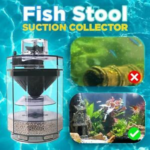 Automatic Fish Stool Suction Collector Fish Stool Type Vacuum Cleaner AU