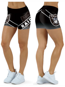 Las Vegas Raiders Small to 2XL Women's Shorts