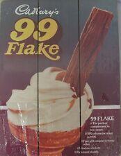Cadburys 99 Flake Retro wooden sign by Half Moon Bay WOODCA01