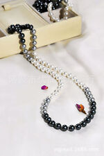 Family Friends Pearl Round Costume Necklaces & Pendants