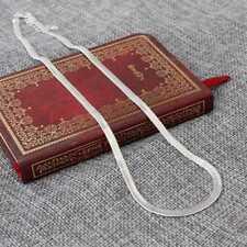Legierung Schlange Knochen Halskette Silber Flach Farbe Charme männlichen kasa