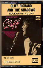 CLIFF RICHARD AND THE SHADOWS Rock  On with Cliff  COMPACT CASSETTE