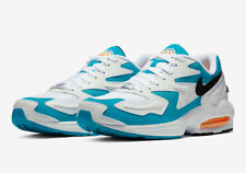 Nike Air Max 2 Light Dolphins White Black Blue Lagoon AO1741-100 NEW