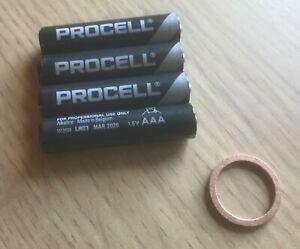 Watchman oil battery power tube REPAIR KIT - PLEASE Carefully READ DESCRIPTION