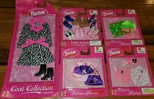~5~ New In Package Barbie Fashion Touches Purses 1998 little extras shoes coat