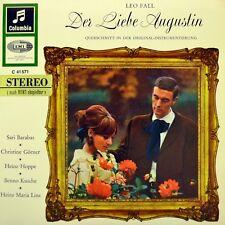 "7"" LEO FALL Der liebe Augustin SARI BARABAS BENNO KUSCHE COLUMBIA Stereo EP 1958"