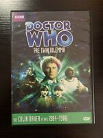 Doctor Dr Who The Twin Dilemma DVD Colin Baker Sixth Doctor Region 1