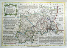 MIDDLESEX, LONDON, Emanuel & Thomas Bowen, Original Antique County Map c1770