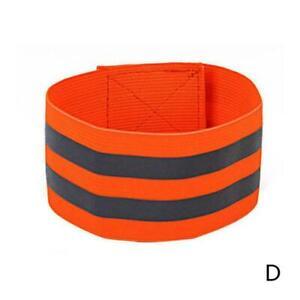 1Pcs Reflective Safety Bands Visibility Wrist Arm Ankle Leg Walking Band Ni.*
