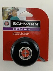 Classic Black Schwinn Bicycle Bike Bell - NEW