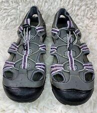 Outland Solstice II Women's River Sandals Size 10 Gray Purple
