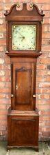 More details for antique welsh oak 30 hour longcase grandfather clock owen richards bala